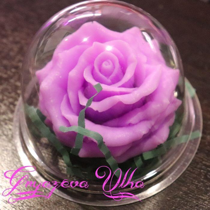 Мыло ручной работы- Роза в куполе (цвет на выбор), Мыло, Балахна,  Фото №1