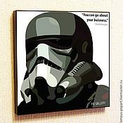Картины и панно handmade. Livemaster - original item Picture poster Star wars, Stormtrooper. Handmade.