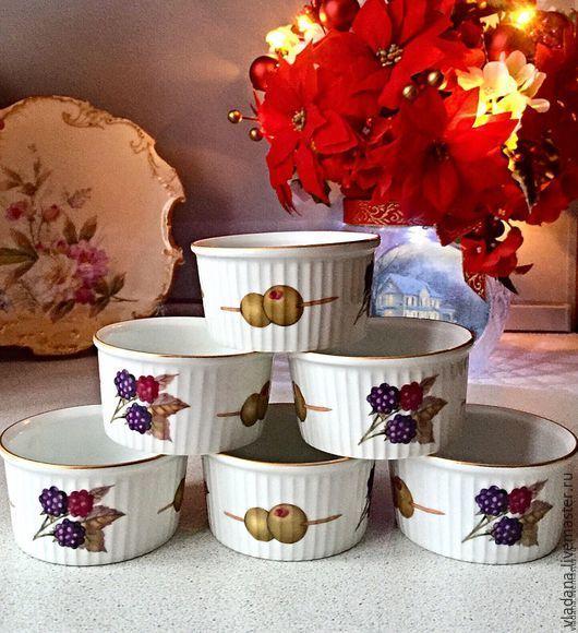 Винтажная посуда. Ярмарка Мастеров - ручная работа. Купить Royal Worcester , набор формочек для жульена, десертов.. Handmade. Комбинированный, для кухни