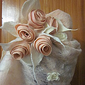 Аксессуары handmade. Livemaster - original item Roses in the Cobweb. Handmade.