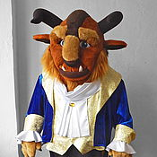 "Дизайн и реклама handmade. Livemaster - original item The Beast ""Beauty and the Beast"". Life-size puppet. Handmade."