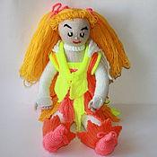 Куклы и игрушки ручной работы. Ярмарка Мастеров - ручная работа Вязаная кукла Злата. Handmade.