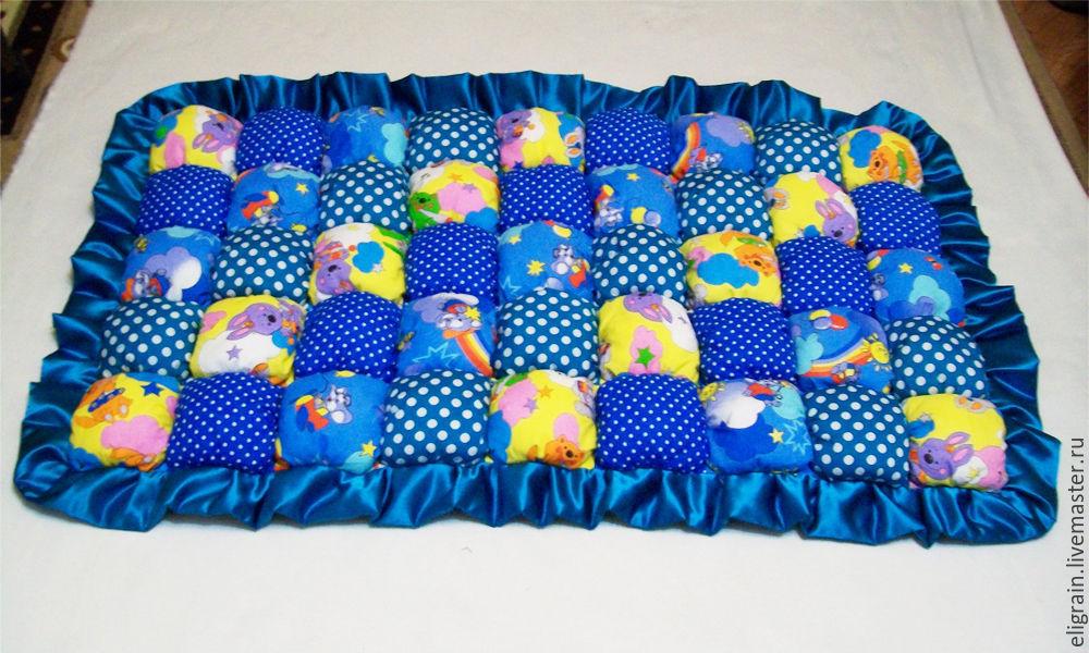 Мягкий коврик своими руками для детей