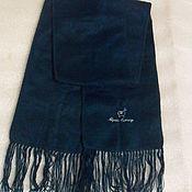 Винтаж handmade. Livemaster - original item Scarf with tassel,acrylic wool Alpaca,vintage Peru. Handmade.