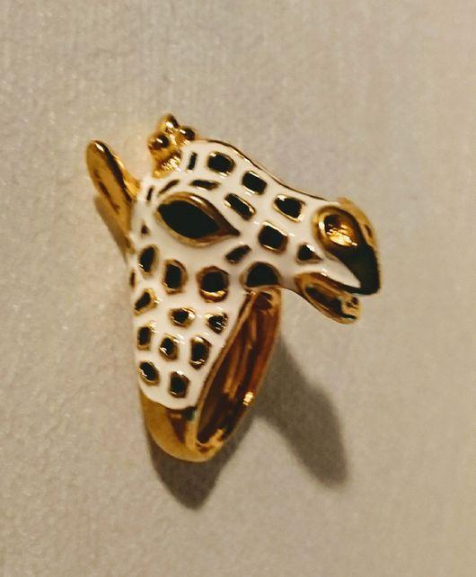 Кольца ручной работы. Ярмарка Мастеров - ручная работа. Купить Кольцо Зебра, Kenneth Jay Lane, Кеннет Лейн (США). Handmade.