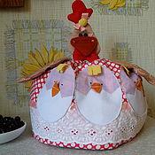 Для дома и интерьера ручной работы. Ярмарка Мастеров - ручная работа Грелка на чайник - курочка. Handmade.