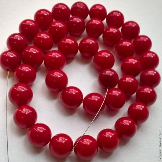 Для украшений ручной работы. Ярмарка Мастеров - ручная работа. Купить Натуральный красный коралл!!!. Handmade. Ярко-красный