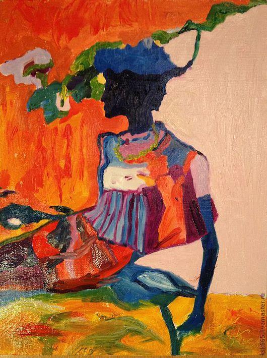 Люди, ручной работы. Ярмарка Мастеров - ручная работа. Купить Итали. Handmade. Оранжевый, лето, солнце, шляпа, сумка, женщина