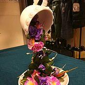 Сувениры ручной работы. Ярмарка Мастеров - ручная работа Цветочный фонтан. Handmade.