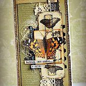Открытки ручной работы. Ярмарка Мастеров - ручная работа Винтажные открыточки. Handmade.
