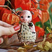 Куклы и игрушки ручной работы. Ярмарка Мастеров - ручная работа Свинка Лаура. Handmade.