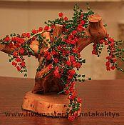 Цветы и флористика ручной работы. Ярмарка Мастеров - ручная работа Пираканта. Handmade.