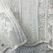 """Одежда ручной работы. Ярмарка Мастеров - ручная работа Корсет """"Сияние Нежности"""" прозрачный. Handmade."""