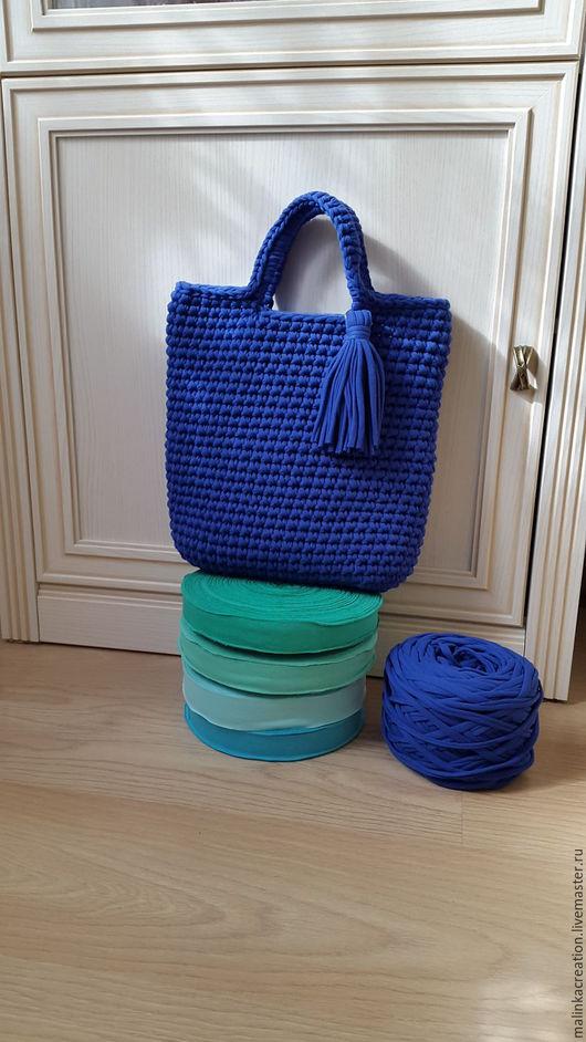 Сумка Blue Bag от Malinka_Creations
