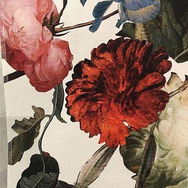 Текстиль ручной работы. Ярмарка Мастеров - ручная работа Ткань для штор хлопок шир. 280 см. Handmade.