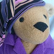 Куклы и игрушки ручной работы. Ярмарка Мастеров - ручная работа мишка в пижаме. Handmade.