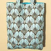 Сумки и аксессуары ручной работы. Ярмарка Мастеров - ручная работа Текстильная сумка Imperial Fans. Handmade.