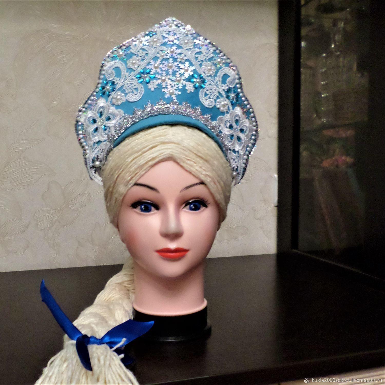 The HEADDRESS: The headdress for the snow Maiden, Kokoshnik, St. Petersburg,  Фото №1
