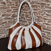 Сумки и аксессуары handmade. Livemaster - original item Model 12 genuine leather Bag for every day. Handmade.