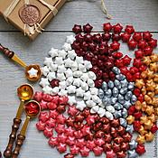 Материалы для творчества ручной работы. Ярмарка Мастеров - ручная работа Воск для печатей Звездочка, 14 цветов. Handmade.
