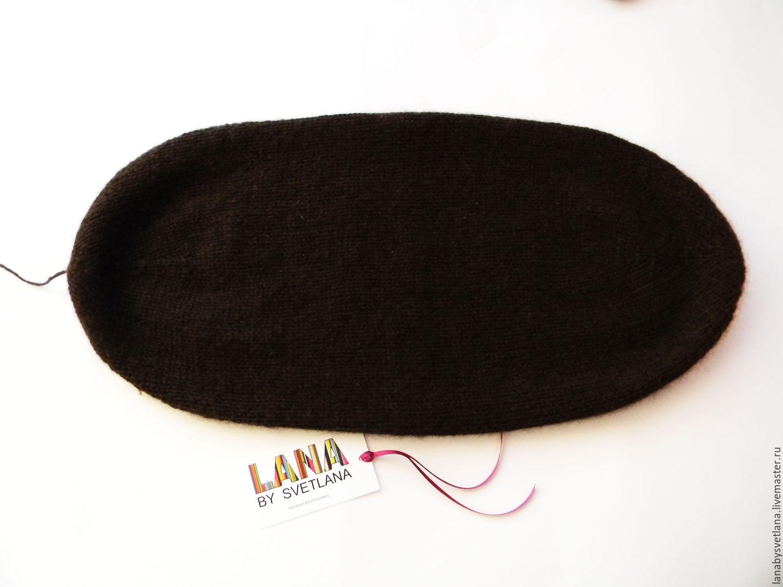 схема вязания спицами клиньев для шапки