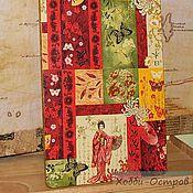 Для дома и интерьера ручной работы. Ярмарка Мастеров - ручная работа Доска разделочная Весна гейши, декупаж. Handmade.