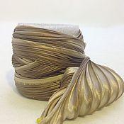 Материалы для творчества ручной работы. Ярмарка Мастеров - ручная работа Лента Шибори N 89. Handmade.