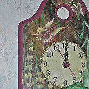 Для дома и интерьера ручной работы. Ярмарка Мастеров - ручная работа Часы кухонные.. Handmade.
