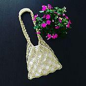 Сумки и аксессуары handmade. Livemaster - original item Bag String bag macrame. Handmade.