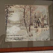 Картины и панно ручной работы. Ярмарка Мастеров - ручная работа Вышивка крестом. Handmade.