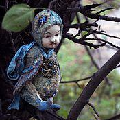 Куклы и игрушки ручной работы. Ярмарка Мастеров - ручная работа Сирин... Моя синяя птица удачи... Handmade.