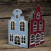 Для дома и интерьера handmade. Livemaster - original item Screen for candle small Houses. Handmade.