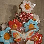 Подарки к праздникам ручной работы. Ярмарка Мастеров - ручная работа пряничный букет. Handmade.