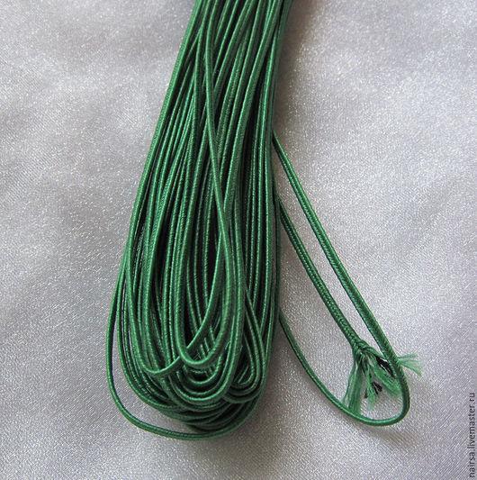 Сутаж белорусский 2.5 мм Цвет - Зеленый
