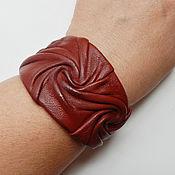 Украшения ручной работы. Ярмарка Мастеров - ручная работа браслет из кожи, украшение из кожи. Handmade.
