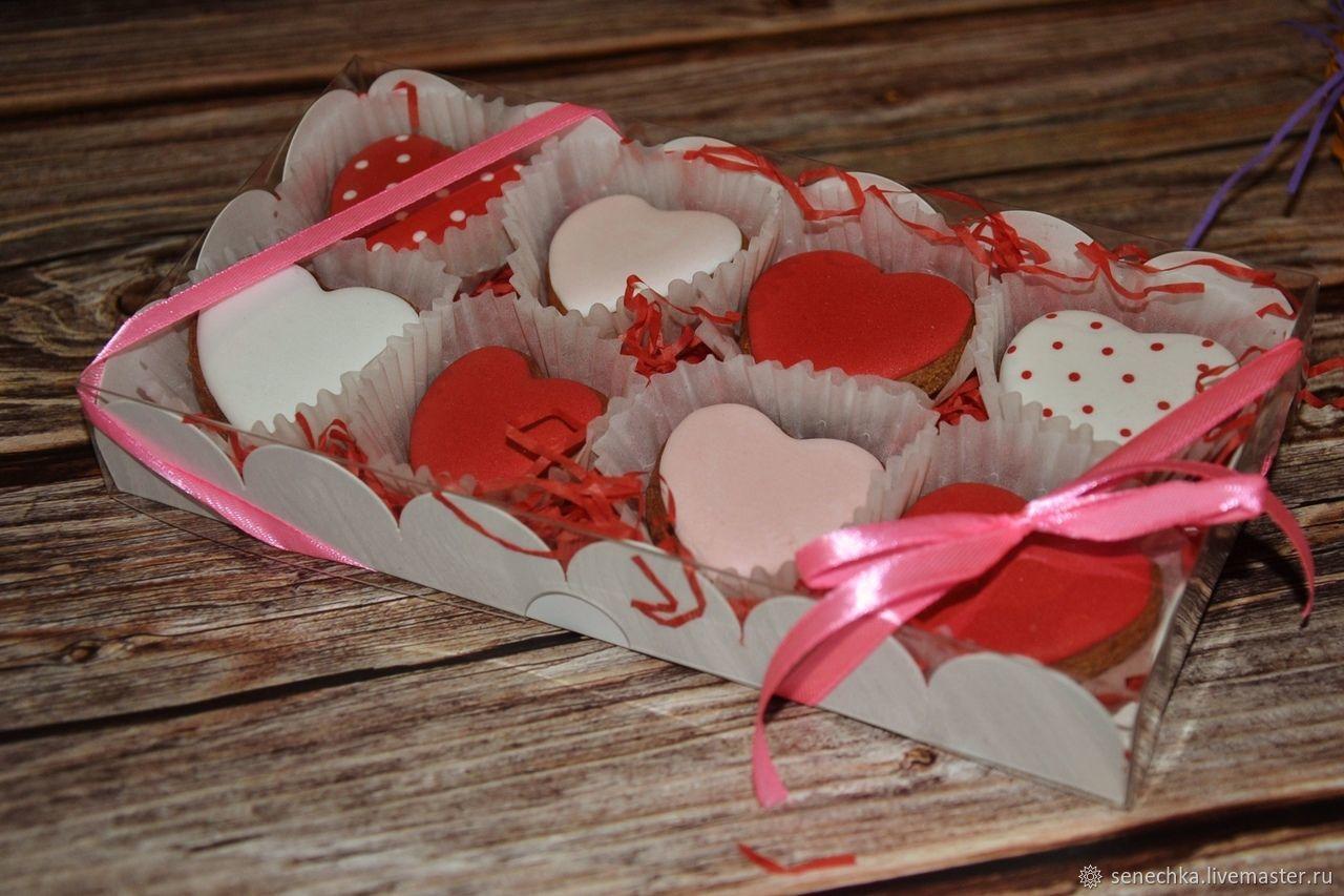 Набор пряничных сердечек -2, Пряники, Кашин,  Фото №1