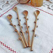 """Посуда ручной работы. Ярмарка Мастеров - ручная работа ложка из дерева """"Вербная"""". Handmade."""