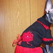 """Для домашних животных, ручной работы. Ярмарка Мастеров - ручная работа Платье для собачки """"Кармелита"""". Handmade."""