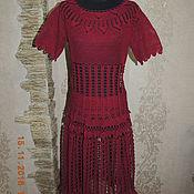 """Одежда ручной работы. Ярмарка Мастеров - ручная работа вязаный юбочный  костюм из хлопка """" Роза"""". Handmade."""