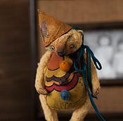 Куклы и игрушки ручной работы. Ярмарка Мастеров - ручная работа желтый мишка из детства. Handmade.
