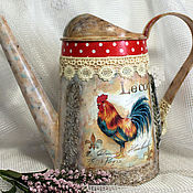 Подарки к праздникам handmade. Livemaster - original item Lake Provence Rooster decoupage. Handmade.