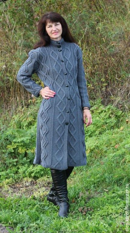Верхняя одежда ручной работы. Ярмарка Мастеров - ручная работа. Купить Пальто серое Элегант. Handmade. Серый