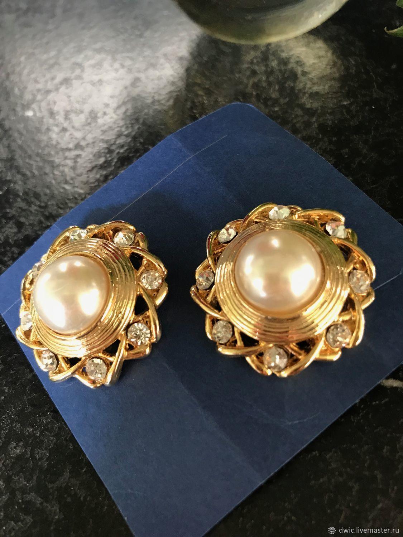 Clips 'Marseille', Europe, Vintage earrings, Arnhem,  Фото №1
