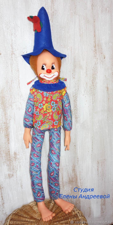 Купить Винтаж  Реставрация игрушки Винтажные куклы и игрушки. Винтаж   Реставрация игрушки Клоун - петрушка. ГДР. c80ff37c657