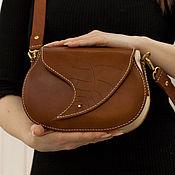 Классическая сумка ручной работы. Ярмарка Мастеров - ручная работа Классическая сумка седельного типа. Handmade.