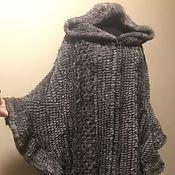 Одежда handmade. Livemaster - original item Knitted mink poncho