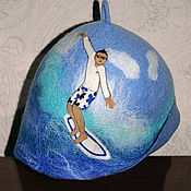 """Для дома и интерьера ручной работы. Ярмарка Мастеров - ручная работа """"Серфингист"""". Handmade."""