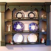 Для дома и интерьера ручной работы. Ярмарка Мастеров - ручная работа Полочка-вертеп в староголландском стиле. Handmade.