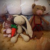 Куклы и игрушки ручной работы. Ярмарка Мастеров - ручная работа Каждая отдельно продаётся.. Handmade.