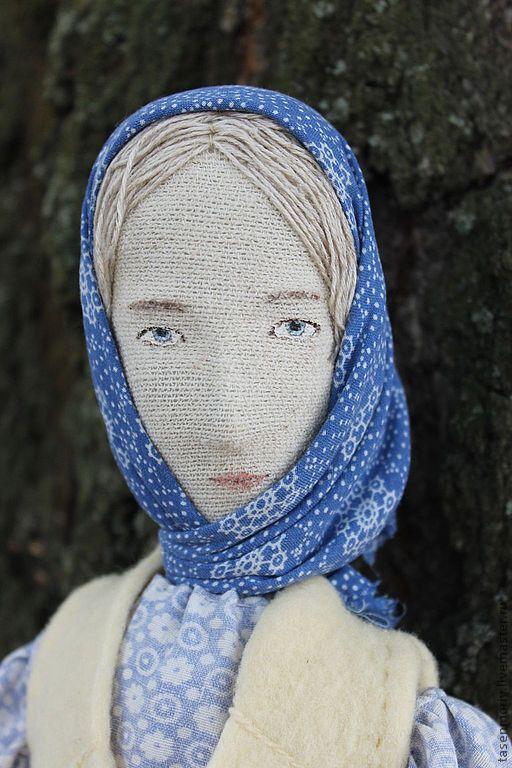 Коллекционные куклы ручной работы. Ярмарка Мастеров - ручная работа. Купить Катерина. Сквозь северный лес. Кабинетная кукла. Handmade.